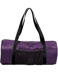 Asics - Training Essentials Foldaway Bag Men's Sports Bag In Purple - Lyst