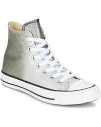 d6152e14dcf7bc Converse - Chuck Taylor All Star Hi Ombre Metallic Women s Shoes (high-top  Trainers