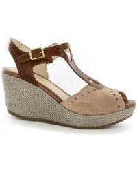 Stonefly - 108311 Wedge Sandals Women Brown Women's Sandals In Brown - Lyst