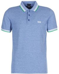 BOSS Athleisure - 50302557 Men's Polo Shirt In Blue - Lyst