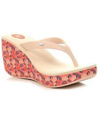 Zaxy - Lipstick V Fem 81975 Women's Flip Flops / Sandals (shoes) In Multicolour - Lyst