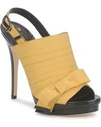 Jerome C. Rousseau - Roxy Women's Sandals In Yellow - Lyst