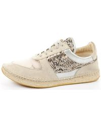 Guess - Beige Women's Shoes (trainers) In Multicolour - Lyst