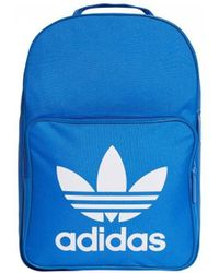 adidas - Originals Trefoil Boys s Children s Backpack In Blue - Lyst 2a3f6d482f2a2
