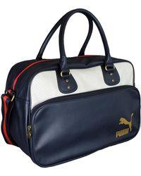 PUMA - Originals Grip Bag Women's Handbags In White - Lyst