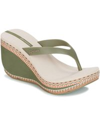 Ipanema - Lipstick Thong Vi Women's Flip Flops / Sandals (shoes) In Green - Lyst