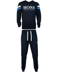 ded81156 BOSS - Tracksuit Model Quot;sweatshirt 50398500 / Trousers 5039 Men's In  Black - Lyst