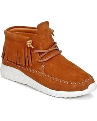ASFVLT Sneakers - Apache Women's Shoes (high-top Trainers) In Brown - Lyst