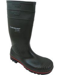 Dunlop | Acifort Hd Full Safe Men's Wellington Boots In Green | Lyst