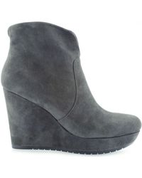 Guess - Varona Shootie Ankle Boot Smoke Women's Low Ankle Boots In Grey - Lyst