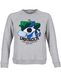 Loreak Mendian - Urki Women's Sweatshirt In Grey - Lyst