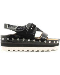 Luca Stefani - 580408 Flip Flops Women Black Women's Sandals In Black - Lyst