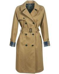 Carol Damen Tommy Trench Mantel Bekleidung Hilfiger Metallic E9eIYWH2D