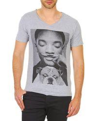ELEVEN PARIS - Woly M Men's T Shirt In Grey - Lyst