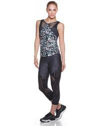 Maaji - Fitness Top Yoga Multicolour Grey - Enchanted Spirit Women's In Grey - Lyst