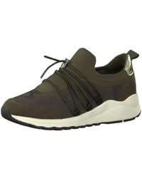 S.oliver - 52360621701 Women's Shoes (trainers) In Green - Lyst