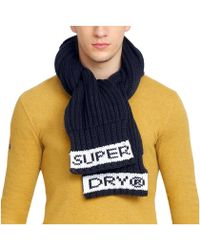 Superdry - Sd Tipped Echarpe Homme - Lyst