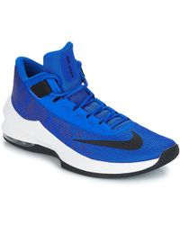 944cc127531 Nike - Air Max Infuriate 2 Mid Men s Basketball Trainers (shoes) In Blue -