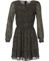 MICHAEL Michael Kors | Cole Smock Drs Women's Dress In Green | Lyst