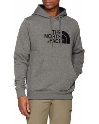 e80964a7f The North Face - Drew Peak Sudadera, Hombre, Tnf Gris Men's Sweatshirt In  Grey