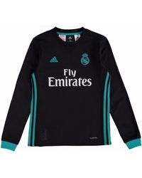 Adidas 2017 18 Real Madrid Away Long Sleeve Shirt (pepe 3  großer Rabatt