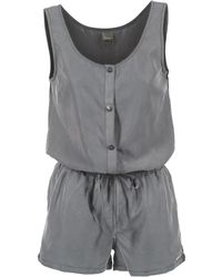 Bench - Chatiness Women's Jumpsuit In Grey - Lyst