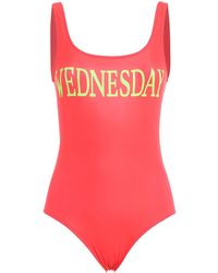 Alberta Ferretti - Rainbow Week Swimsuit - Lyst