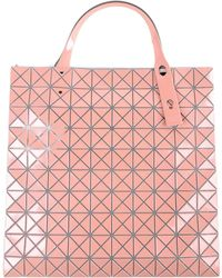 Lyst - Bao Bao Issey Miyake Prism Metallic Tote in Pink 42feeb66ef991