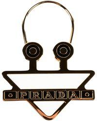 Prada - Key Ring Acciao+smalto - Lyst