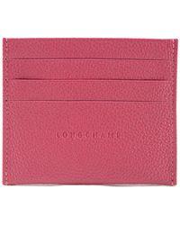 Longchamp - Le Foulonne Card Holder - Lyst