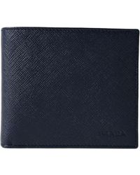 Prada - All Designer Products - Saffiano Wallet - Lyst