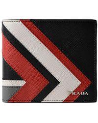 Prada - All Designer Products - Saffiano Surf Wallet - Lyst