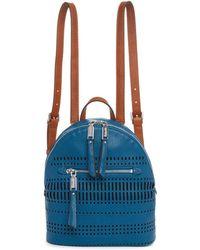 Splendid - Park City Mini Perforated Backpack In Ocean - Lyst