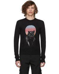 Saint Laurent - Black Panther Sweater - Lyst