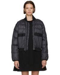 adidas By Stella McCartney - Black Short Padded Jacket - Lyst
