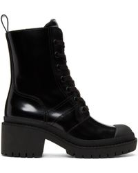 Marc Jacobs - Black Bristol Laced Up Boots - Lyst