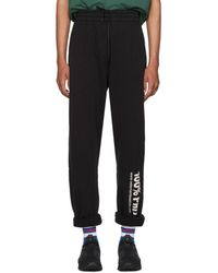 Vetements - Black '100% Pro' Baggy Lounge Trousers - Lyst