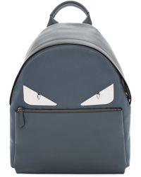 Fendi - Grey Metal 'bag Bugs' Backpack - Lyst