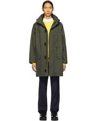 Yves Salomon - Green Army Raincoat - Lyst