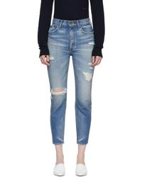 Moussy - Blue Powell Boy Skinny Jeans - Lyst