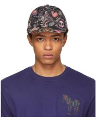 Paul Smith - Ssense Exclusive Multicolour 1974 Baseball Cap - Lyst