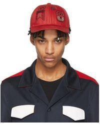 Valentino - Red Garavani Embroidered Cap - Lyst