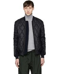 Tim Coppens - Black Quilted Ma-1 Bomber - Lyst