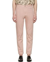 Cmmn Swdn Pink Maxime Crop Jeans