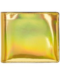 Maison Margiela - Gold And Silver Bicolor Wallet - Lyst