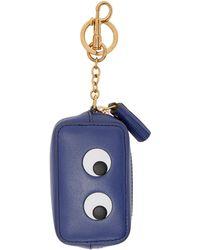 Anya Hindmarch | Blue Eyes Coin Purse Keychain | Lyst