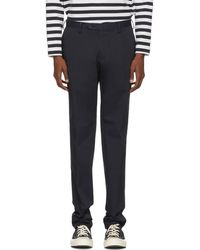 Tomorrowland - Navy Ice Chino Trousers - Lyst