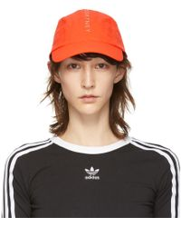 219ab0e5cef adidas By Stella McCartney - Orange Run Cap - Lyst