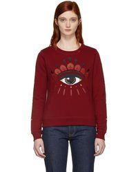 KENZO - Red Eye Sweatshirt - Lyst