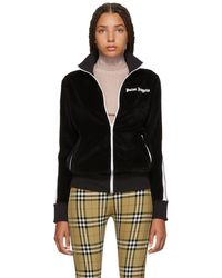 Palm Angels - Black Chenille Track Jacket - Lyst